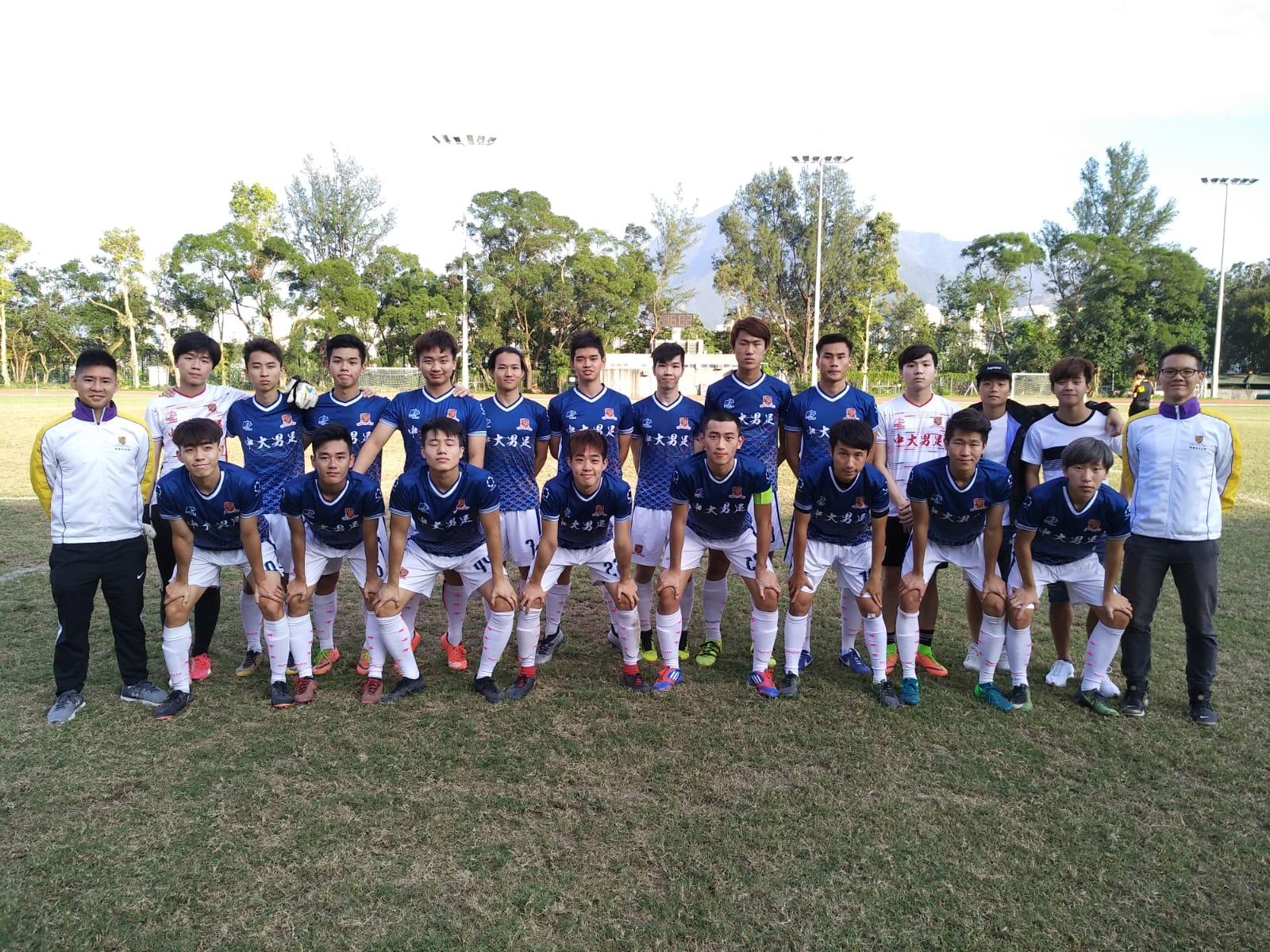 2018-19 男子足球比賽