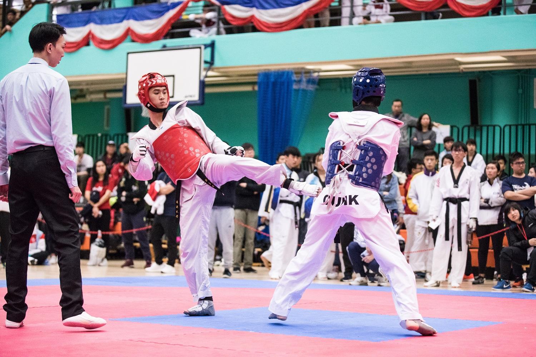 2017-18 跆拳道比賽